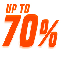 Up to 70%